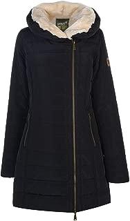 Gelert Womens Zip Front Padded Hooded Warm Storm Parka