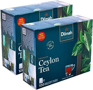 Dilmah Premium 100 Tea Bags x 2 Pack =(Total 200 Bags)