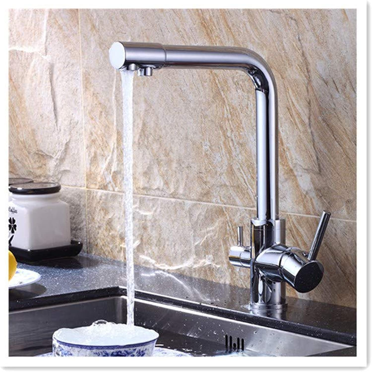 BBQBQQY Cool and hot water mixing single kitchen faucet bathroom