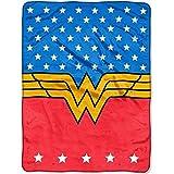 DC Comics DC Wonder Woman 46x60 Plush Throw Blanket, 46Wx60L,...