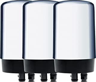 Brita 36314 Faucet Replacement Filters, CHROME
