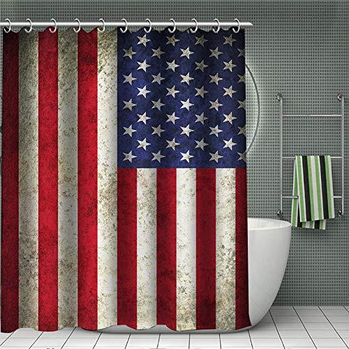 xwwnzdq bedrukking van de vlag douchegordijnen Psychedelische stof waterdicht badkamer polyester decoratie voor thuis