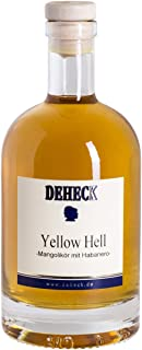 Deheck Yellow Hell Mango-Habanero Chili Likör 0,5 l