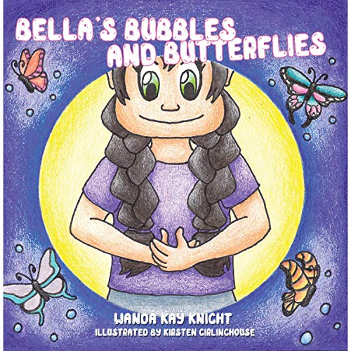 Bellas Bubbles and Butterflies audiobook cover art