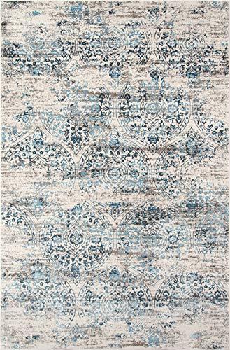 Momeni Rugs Juliet Collection Teppich, 70 x 90 cm, Blau