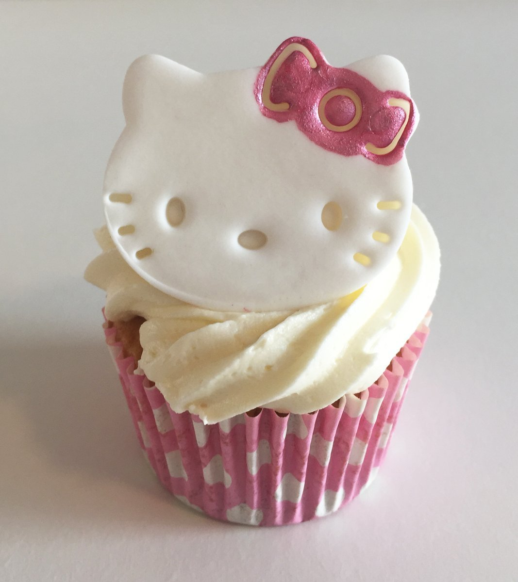 6 Sugar Hello Kitty Face Cake El Paso Mall Love Made with Imaginat Toppers- Max 69% OFF