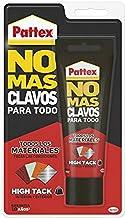 Pattex No Mas Clavos Para Todo HighTack Adhesivo de montaje resistente a temperaturas extremas, pegamento fuerte en superf...