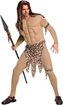 Edgar Rice Burroughs Tarzan Deluxe Adult Tarzan Costume With Muscle Chest