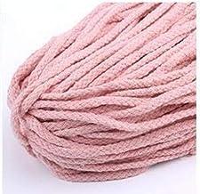 WEDSA 5 yards 7mm katoenen touw DIY ambachtelijke decoratieve gedraaid koord voor naaien geschenkverpakking boeket accesso...