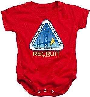 Star Trek Graphic Baby Onesie Bodysuit
