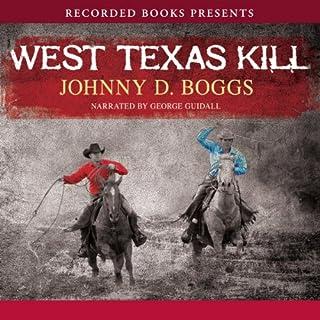 West Texas Kill audiobook cover art