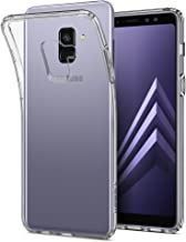 Spigen Liquid Crystal Designed for Samsung Galaxy A8 Case (2018) - Crystal Clear