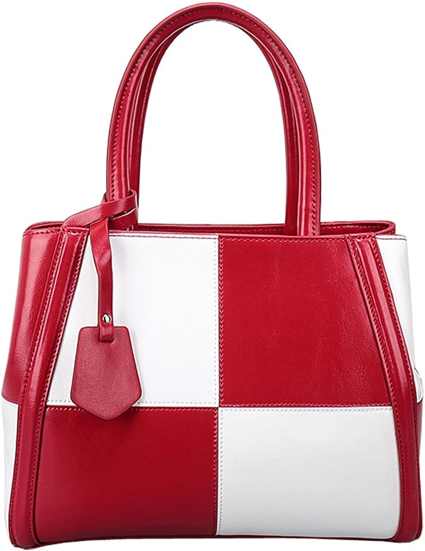KAXIDY Ladies Shoulder Bag Handbags Cross Body Bag Leather Satchel Handbags Office Bag