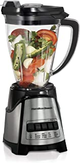 Hamilton Beach 1.4L MultiBlend Food & Drink Blender, 12 Functions for Puree, Grind, Chop, Shakes & Smoothies, Shatterproof...