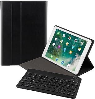 Ewin iPad Pro 10.5 キーボードカバー 脱着式 Bluetooth キーボード iPad保護ケース スタンド機能付き スマートスリープ 薄型 超軽量【一年メーカー保証】