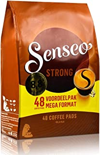 Douwe Egberts, Senseo, Strong Roast, 48 Pods/Pads, Full and Rich Coffee