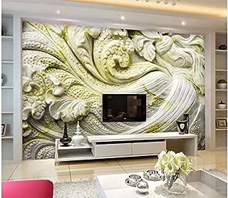 Wapel Custom 3D Wallpaper Embossed Cabbage Stone Frescoeses Living 3D Wallpaper Classic Wallpaper for Walls Silk Cloth 300x210CM