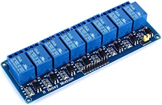 Yizhet 8 Canali Relé DC5V Modulo Relay Modulo Relè con Accoppiatore Ottico per Arduino Raspberry Pi BRACCIO AVR DSP Mega 2...