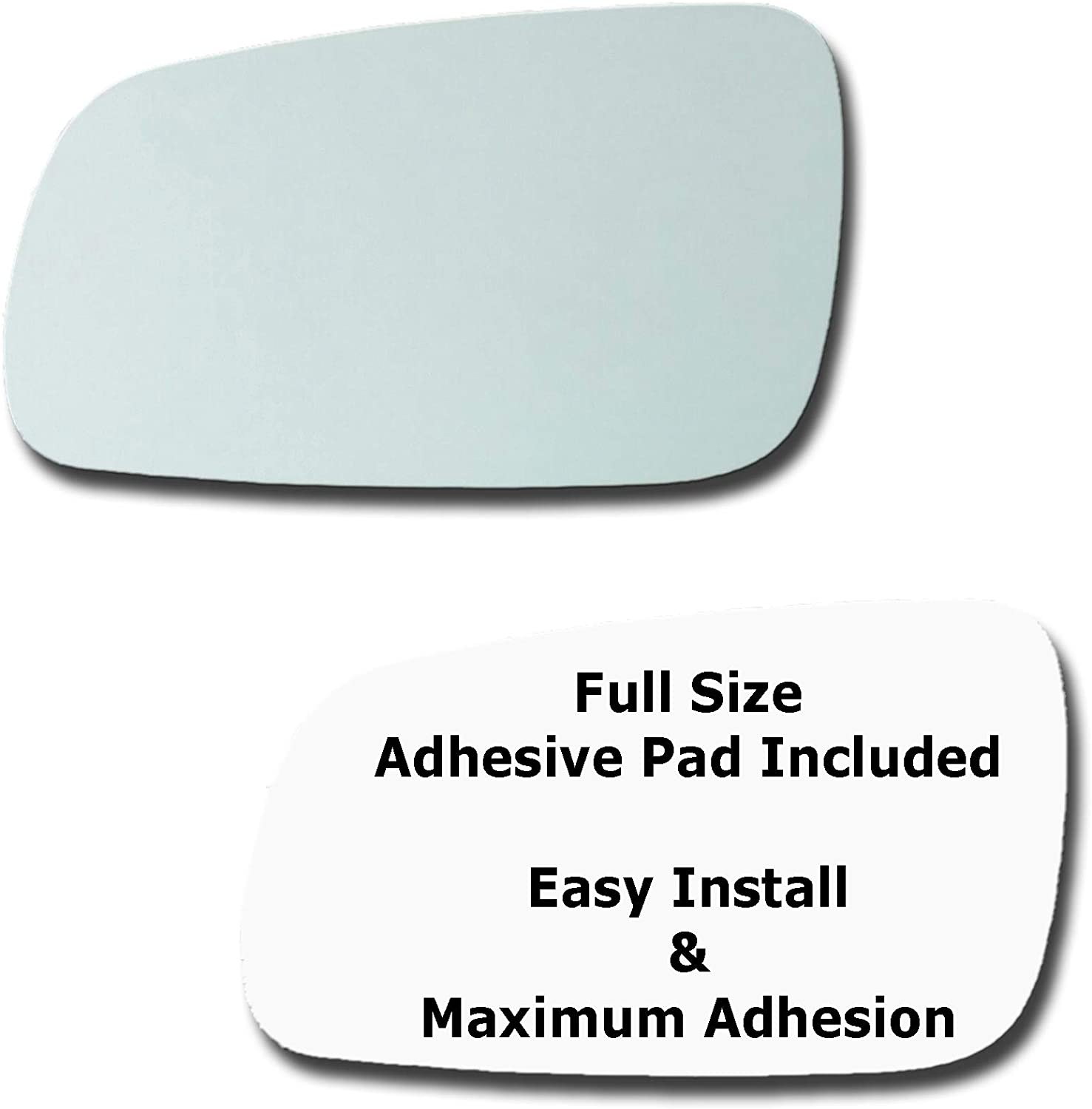 Mirror Glass + Full Size Max 53% OFF Adhesive J 2001-2004 Volkswagen service Pad for
