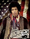 Desperate Enterprises Jimi Hendrix Music High Blechschild Flach Neu 30x40cm S4660