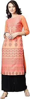 Vaamsi Women's Crepe a-line Kurta