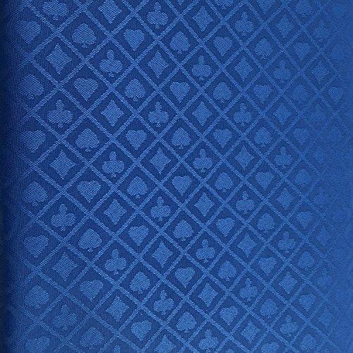 Yuanhe Poker-Tischdecke, 274 x 152 cm, Blau