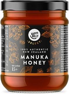 Marca Amazon - Happy Belly Select Miel de manuka 15+, 340gr - MGO 514