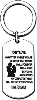 Valentine Gifts Key Chain - to My Love/I Belong to You and You are My Everything/Love Forever (Style A)