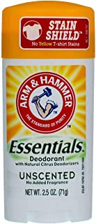 A&H Ess Unsented Size 2.5z Arm & Hammer Essentials Unscented Natural Deodorant