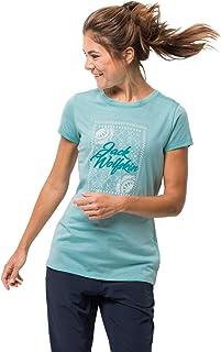 Jack Wolfskin Sea Breeze Womens Short Sleeve T-Shirt