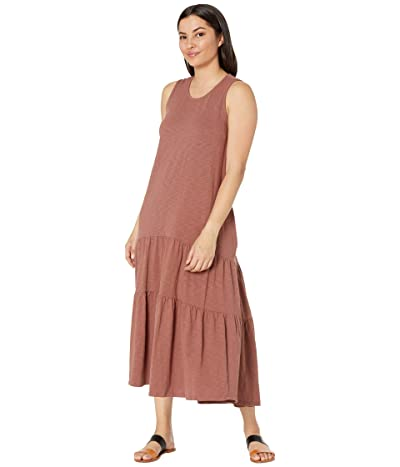 Dylan by True Grit Most-Loved High-Low Tiered Dress with Pockets