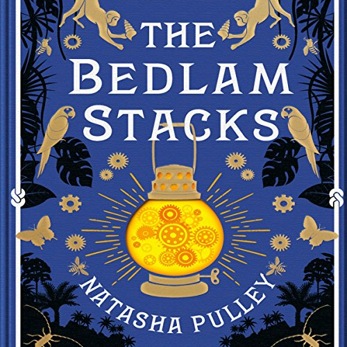 The Bedlam Stacks audiobook cover art
