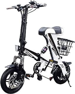 MEIYATU E-Bike - Folding Electric Bicycle with 15-18 Miles Range, E-Bike Scooter 250W Powerful Motor Collapsible Frame 36V