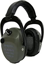 Pro Ears - Pro Tac SC Gold - Military Grade Hearing Protection and Amplification - NRR 25 - Ear Muffs - Green