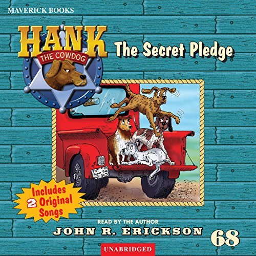 The Secret Pledge audiobook cover art