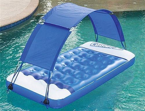 Aufblasbare Markise Matratze Schwimmende Freizeit Schwimmen Spielzeug Spaß EntSpaßnung Spielzeug