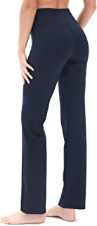 Bootcut Yoga Pants for Women - Tummy Control Workout Athletic Exercise Gym Leggings
