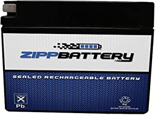 4B-BS Battery - Rechargeable, Sealed AGM Replacement for Suzuki DR-Z70 '08-'09 and '15-'17