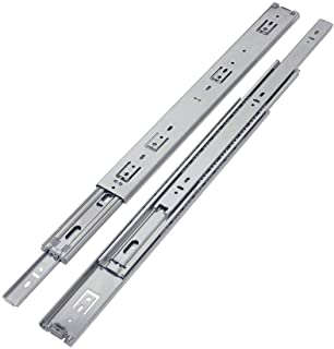 VADANIA Heavy Duty Drawer Slides 24 Inch, A1551, Side Mount Full Extension Ball Bearing 150lb Load Capacity, 1-Pair (2-Pack)