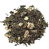 Aromas de Té - Té Verde y Blanco - Sabor Sorbete de Limón/Té Efecto Diurético Blanco y Verde Sabor Limón - Efecto Digestivo - Con Ingredientes Antioxidantes - 40 gr