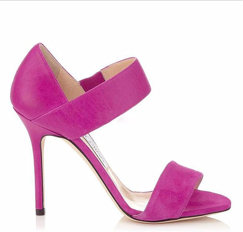 kvinnor skor Sandaliasa De kvinnor Europeas Y Americanas Con skor skor skor De Tac livreme 65533; (sdr65533; n Alto Con Punta Aberta Sandals)  försäljning