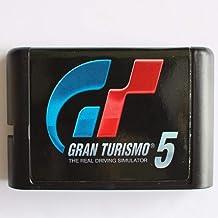 The Crowd Tradensen GT 5 Gran Turismo 16 Bits Carte de Jeu pour Sega Mega Drive pour Sega Genesis