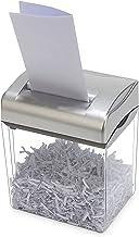 $379 » Blacklight Desktop mini paper shredder, electric office document waste paper shredder, small household portable paper shre...