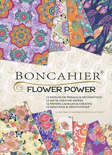 Cuaderno Flower Power (Papeles decorativos)