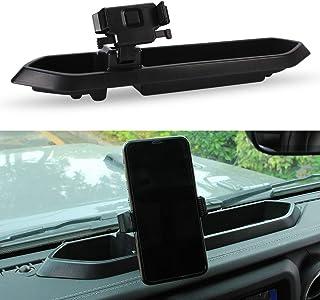 SUNPIE Dash Tray Mount Phone Holder for Jeep Wrangler JL JLU 2018 2019 2020 Jeep JT Gladiator (Interior Accessories)