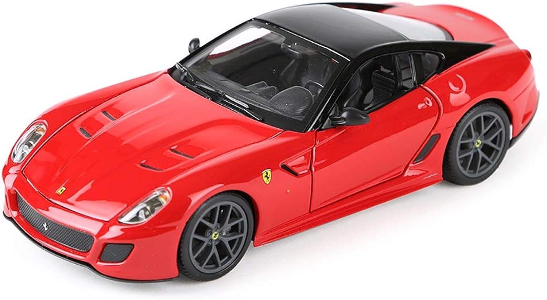 venderse como panqueques Hyzb Modelo de Coche Coche 1 24 Ferrari 599 599 599 GTO aleación de simulación de fundición de Juguete joyería joyería de colección de Coche Deportivo joyería 18.5x8x5.2 CM (Color   rojo)  nuevo listado