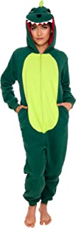 Slim Fit Animal Pajamas - Adult One Piece Cosplay Dinosaur Costume by Silver Lilly