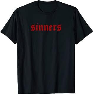 Sinners Aesthetic Outfit for E-Girls E-Boys Teens Men Women T-Shirt