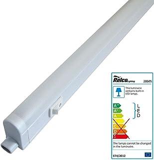 Réglette lumineuse LED 14 W blanc chaud 830 pour meuble de cuisine