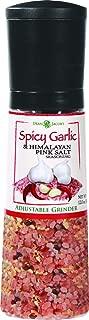 Dean Jacobs Jumbo Grinder Spicy Garlic and Himalayan Pink Salt Seasoning, 12 Ounce
